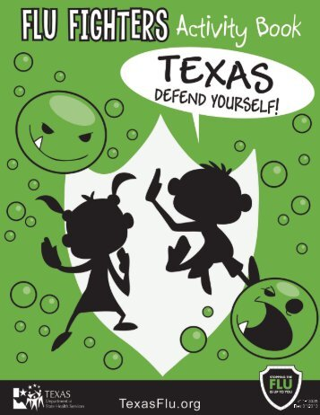 Flu Fighters Activity Book - TexasFlu.org