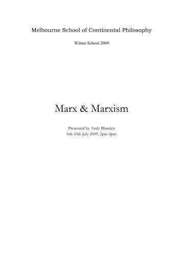 The Communist Manifesto - Marxists Internet Archive