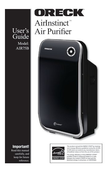 AirInstinct Air Purifier