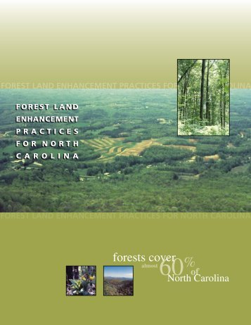 Forest Land Enhancement Practices for North Carolina