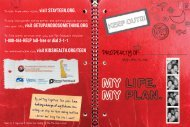 Teen Life Plan - Delaware Health and Social Services