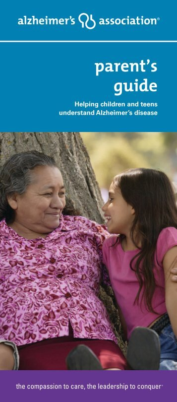 parent's guide - Alzheimer's Association