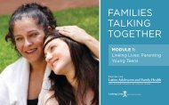 Linking Lives: Parenting Your Teens - The Center for Latino ...