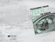 Teaching Your Teen to Drive - Ohio Department of Public Safety