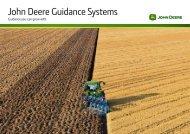 Guidance Systems Brochure - John Deere