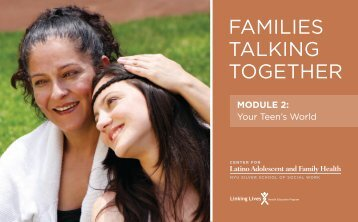 Families Talking Together - The Center for Latino Adolescent and ...