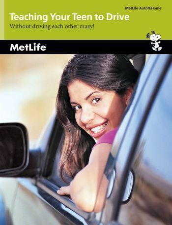 MetLife - Teaching Your Teen To Drive - Teendriving.com