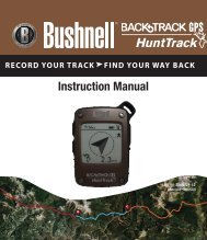 HuntTrack Manual - Bushnell