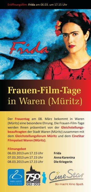 Frauen-Film-Tage - Waren