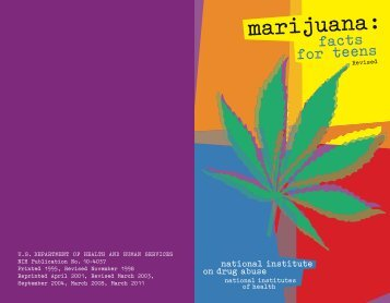 Marijuana: Facts for Teens