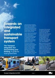 Documenting your thinking - Department of Transport - Vic.gov.au