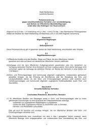 1 Stadt Weißenberg Landkreis Bautzen Polizeiverordnung gegen ...