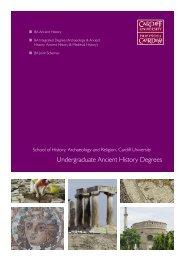 Undergraduate Ancient History Degrees - Cardiff University