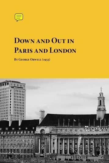 Down and Out in Paris and London - Planet eBook