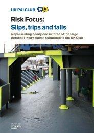 Slips, trips and falls - UK P&I