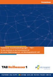 Technische Anschlussbedingungen · Teil 1 - Stadtwerke Jena ...