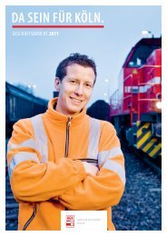 HKG Geschäftsbericht 2011 - Stadtwerke Köln