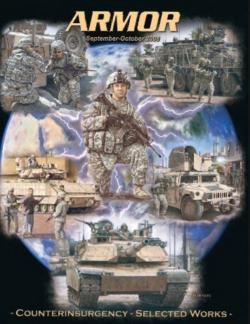 Armor Magazine Counterinsurgency Selected Works - US Army