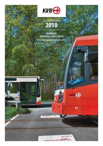 geschäftsbericht erfahrung. kompetenz. fortschritt. - Stadtwerke Köln