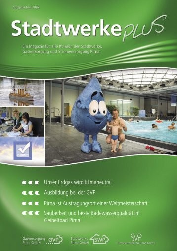 Ausgabe Mai 2009 - Stadtwerke Pirna GmbH