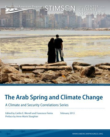 The Arab Spring and Climate Change