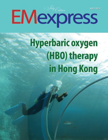 Hyperbaric oxygen (HBO) therapy in Hong Kong