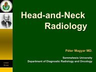 Head-and Head and-Neck Neck Radiology