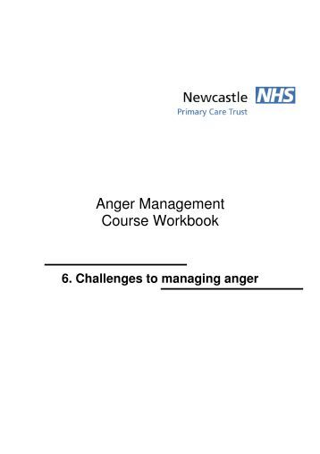 Challenges to managing anger - Newcastle Psychological Services ...