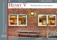HENRY V - King's College School