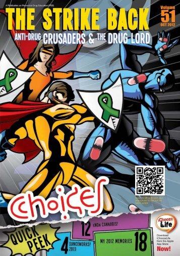 October 2012 Choices Magazine for Kids - Central Narcotics Bureau