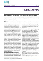 Nausea and Vomiting in Pregnancy - Dr Paul P Fogarty