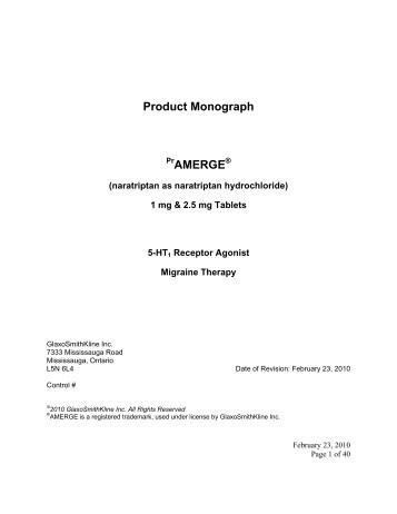 Latisse product monograph allergan product monograph amerge glaxosmithkline pronofoot35fo Choice Image