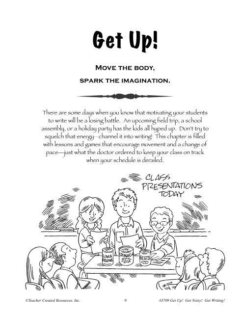 Get Up Teacher Created Resources