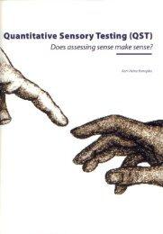 Quantitative Sensory Testing (QST) - Does assessing ... - TI Pharma