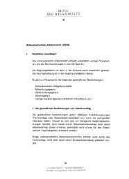 Schweizerisches Arbeitsrecht (578 KB) - Muri Rechtsanwälte