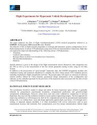 Flight Experiments for Hypersonic Vehicle Development Expert