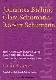 Johannes Brahms Clara Schumann Robert Schumann