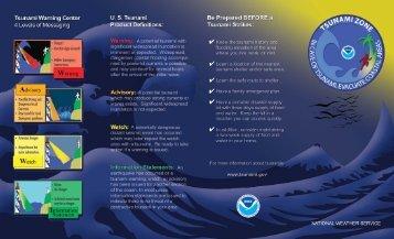 Tsunami Brochure - Storm Ready