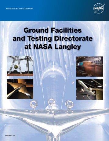 Ground Facilities and Testing Directorate at NASA Langley