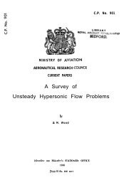 A Survey of Unsteady Hypersonic Flow Problems