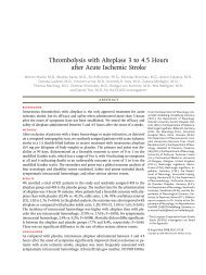 Thrombolysis with Alteplase 3 to 4.5 Hours after Acute Ischemic Stroke