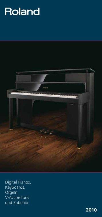 Digital Pianos, Keyboards, Orgeln, V-Accordions und Zubehör