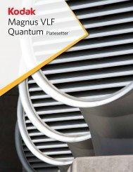 Magnus VLF Quantum Platesetter - Kodak