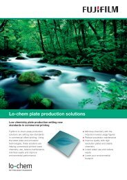 Lo-chem plate production solutions - Fujifilm