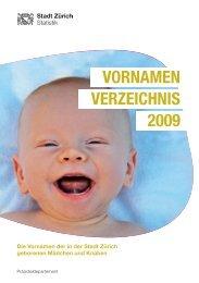 Download Publikation (PDF, 28 Seiten, 597 KB) - Stadt Zürich