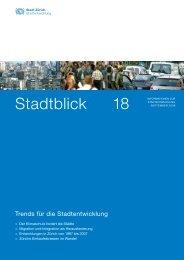Stadtblick 18 - September 2009 (PDF, 32 Seiten, 3 - Stadt Zürich