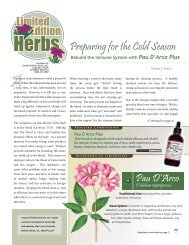 Volume 7 Issue 2 - Limited Edition Herbs