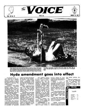 Hyde amendment goes into effect