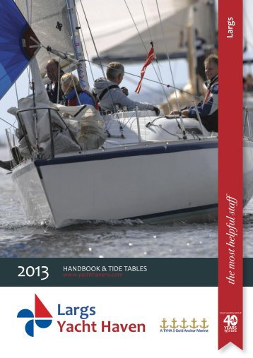 2013 Handbook & Tide Tables - Yacht Havens Group