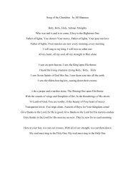 Song of the Cherubim by Jill Shannon Holy, Holy, Holy, Adonai ...